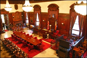 New York Probate Court - Courtroom