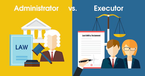 The Difference Between Administrator and Executor