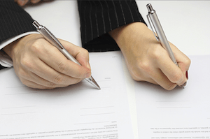 marriage separation agreement