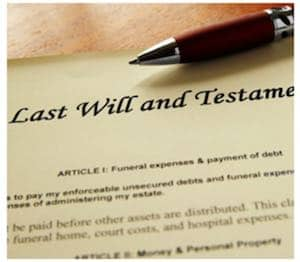 costs of a will