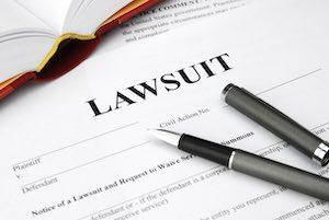 getting sued